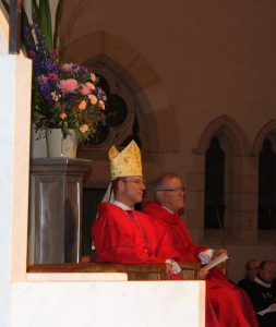 Bishop Randazzo and Father Kenneth Howell