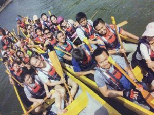 Dragon Boat Race on the river