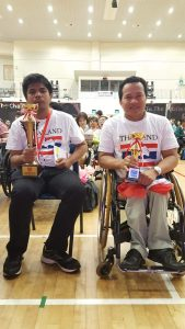 Winners of the Christopher Cup 2017: Tevapong and Sawang from Thailand